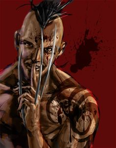 Daken by Mike Choi. Daken should be the villain of the next Wolverine film.