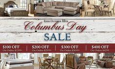 Columbus Day Savings! Melbourne Florida, Atlantic Furniture, Columbus Day, Coastal Living, Living Room Furniture, Home Decor, Lounge Furniture, Decoration Home, Room Decor