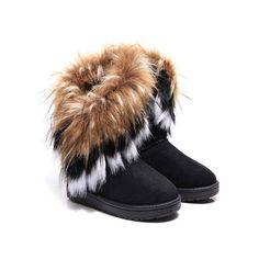 a5e871d95e7 Meigar - Meigar Women Winter Snow Boots Ankle Boots Warm Fur Lady Shoes -  Walmart.com
