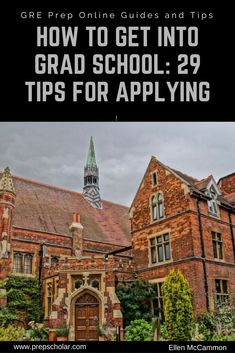 Want to know how to get into grad school? Let me lend you my graduate school expertise: I've been through the process myself and I'm now attending… - New Sites Grants For College, Online College, Scholarships For College, Education College, College Notes, College Tips, College Life Hacks, Life Hacks For School, Masters