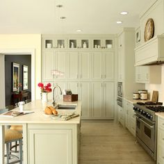 love this cabinetry colour