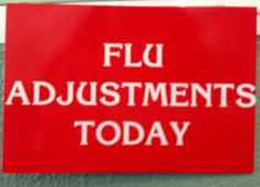 FLU ADJUSTMENTS TODAY! | Yelp Natural Lifestyle, Chiropractic, Flu, Fun Facts, Logos, Beautiful, Logo, A Logo, Funny Facts