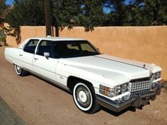 1974 Cadillac Fleetwood Talisman with Sunroof - one of the best in existence today. The rarest and most expensive full size factory Cadillac of the seventies. Retro Cars, Vintage Cars, Antique Cars, Cadillac Ct6, Cadillac Eldorado, General Motors, Cadillac Fleetwood, Michigan, Chevrolet Corvette