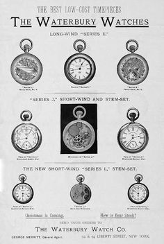 1880s ad: The Best Low-Cost Timepieces