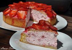 Tort de capsuni cu frisca | Retete culinare cu Laura Sava - Cele mai bune retete pentru intreaga familie