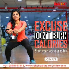 Excuses don't burn your #body #calories start #workout from today and see the #measurable #results.