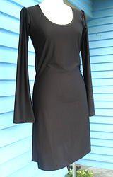 Spandex Dress - Chocolate Brown