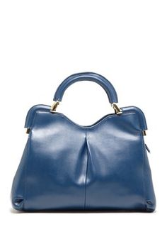 Segolene Pleat Front Satchel Handbag