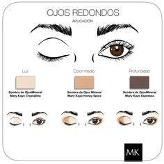 Makeup Ojos redondos #MaryKay   www.marykay.es/mariaroda