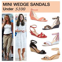 Under 0: Mini Wedge Sandals