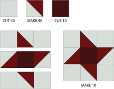 Make a Keepsake Quilt with the Christmas Row Quilt Pattern: Sew Friendship Star Blocks for the Christmas Quilt