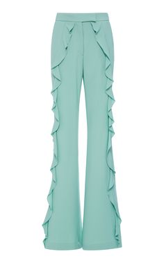 Elie Saab Resort 2018 Collection Photos (Ruffle Flared Pant)