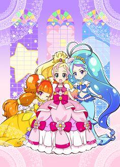 Cute Pretty Cure Princesses