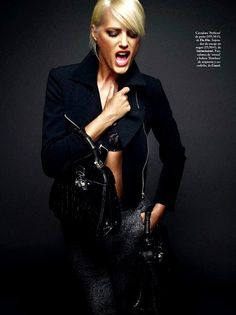 Yasmin Le Bon by Xavi Gordo for Elle Spain October 2013