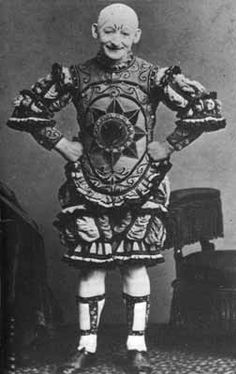 George L. Fox, 1825 - 1877. 52; clown, pantomime artist, comedian, dancer. known as the American Grimaldi