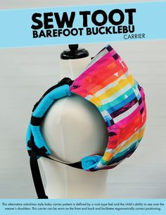 Bucklebu Carrier Pattern - Barefoot Bucklebu™ by Sew Toot- Alternative Onbuhimo Style Baby Carrier - Digital PDF Sewing Pattern