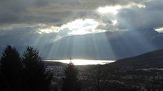 La Dent du Chat et le lac du Bourget le 26 novembre 2015