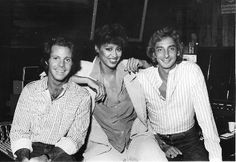 Ron Dante, Phyllis Hyman and Barry Manilow