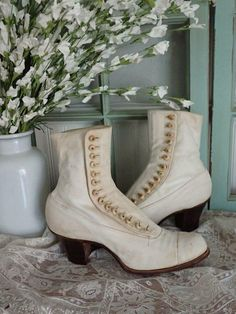 Antique Clothing, Shoe Boots, Shoes, Victorian, Booty, Antiques, Clothes, Fashion, Antiquities