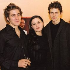 Jake Gyllenhaal, Anna Paquin and Hayden Christensen, This is Our Youth opening night after party, Hayden Christensen, Jake Gyllenhaal, Teen Wolf, Daddy, Star Wars, Instagram, Photoshoot, Actors, Film