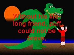 Puff The Magic Dragon with animated story background and overlay lyrics. Beautifully sung by The Irish Rovers. I hope you enjoy the video. Fun Songs, Kids Songs, Sound Of Music, Kinds Of Music, Comedy Movies For Kids, Irish Rovers, Puff The Magic Dragon, Scottish Music, Cartoon Tv Shows