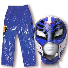 WWE Rey Mysterio 1st Series Blue Replica Kid Size Mask & Pants Combo by WWE. $129.00. WWE Rey Mysterio 1st Series Blue Replica Kid Size Mask & Pants Combo