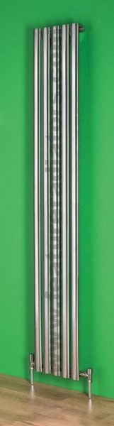 Oval Vertical stainless steel radiator