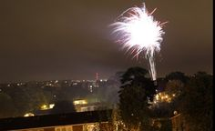 Fireworks over #Tooting! By@robkennedy79 (Robert Kennedy) via Instagram.