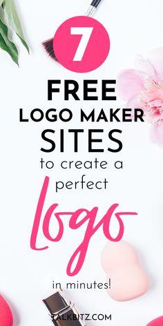 Free Business Logo, Create A Business Logo, Branding Your Business, Craft Business, Business Tips, Create A Logo Free, Make Your Own Logo, How To Make Logo, Logo For Free