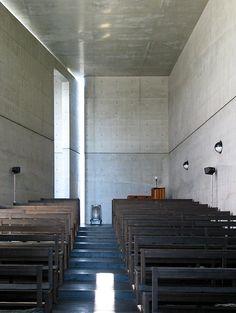 Church of the Light, Ibaragi, Osaka, Japan. 1989 Architect: Tadao Ando