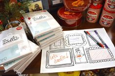 Wouldn't you enjoy a relaxing holiday in which you could Eat, Sleep, Doodle?! Bring out this fun leisurely activity in any holiday moment from @kelloggfurn