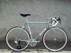 Milani REPLICA - Classic timeless steel CrMo frame set Columbus Spirit for lugs w/ @campagnolosrl Athena