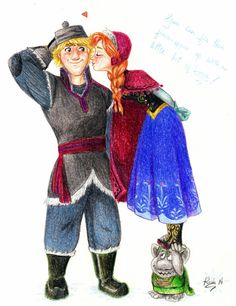 fun fact about kristoff's family: I can stand on them and not crush them!