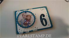Elsa & Anna Geburtstagskarte - Schüttelkarte