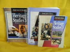 Bob Jones Heritage Studies 3 Student w.Teacher, History Homeschool or School  #TextbookBundleKit