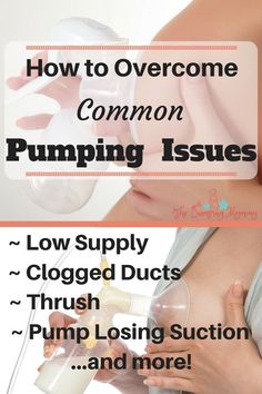 How to overcome common Pumping Issues - Pumping is…