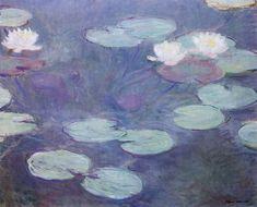 Pink Water Lilies, Claude Monet