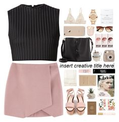 """""""Untitled #2139"""" by tacoxcat ❤ liked on Polyvore featuring Maison Margiela, David Koma, Cacharel, Royce Leather, Jonathan Adler, Marc Jacobs, Rifle Paper Co, J.Crew, Blackbird Letterpress and Julep"""