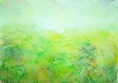 Kaji Aso Japanese Artist:Watercolor Painting