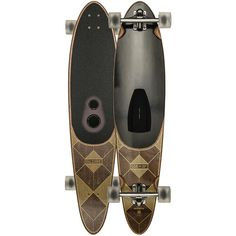 Globe GSB Pinner Complete Speaker Longboard (32560 RSD) ❤ liked on Polyvore featuring men's fashion, men's accessories, men's tech accessories and wood