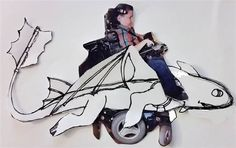 Dad makes magic wheelchair costume for disabled son   The Raw Food World