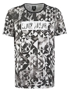 Black Kaviar GYHURST - Camiseta print - white - Zalando.es