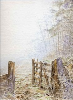 A watercolour by Sylvia Twiss Watercolor Artists, Watercolour Painting, Watercolours, All Design, Landscape Paintings, Restoration, Canvas, Gallery, Nature