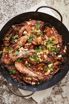NOMU is an original South African food and lifestyle concept by Tracy Foulkes. Seafood Stew, Fish And Seafood, South African Recipes, Ethnic Recipes, Lemon Roasted Potatoes, Crab Stuffed Shrimp, Prawn Shrimp, Fish Stew, Spanish Cuisine