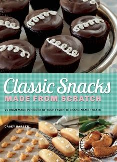 Buy Classic Snacks Made from Scratch: 70 Homemade Versions of Your Favorite Brand-Name Treats by Casey Barber and Read this Book on Kobo's Free Apps. Discover Kobo's Vast Collection of Ebooks and Audiobooks Today - Over 4 Million Titles! Mcdonalds Apple Pie, Momofuku Milk Bar, Orange Cupcakes, Apple Filling, Chocolate Cupcakes, Baking Recipes, Brand Names, Treats, Homemade