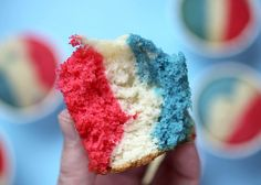 Snowcone Cupcake by Bakerella, via Flickr