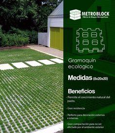 #gramoquin es un producto ecológico ideal para decoración externa y la puesta de hierba 🌿 para un diseño ecológico.