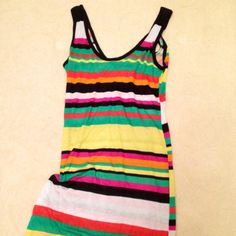 Block color dress ..... trend for this season ....