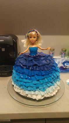 Barbie cake, doll cake, tort z lalką