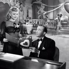 """Be careful, it's my heart"" Holiday Inn, Bing Crosby & Marjorie Reynolds :)"